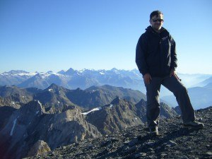 Me on the summit of Barrhorn.