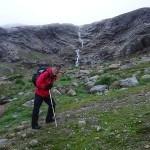 Trekking poles.