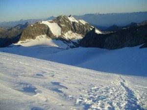 On Bishorn glacier