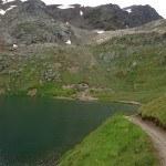 Refuge at Lago del Monte (2606 m).