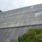 Grande Dixence, a 285 meters high dam.