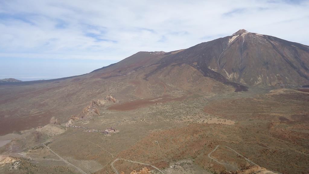 Teide is always in sight.