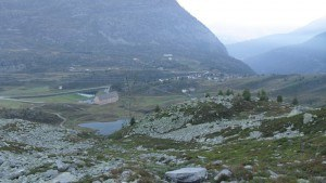Simplon Hospice and Rotel lake