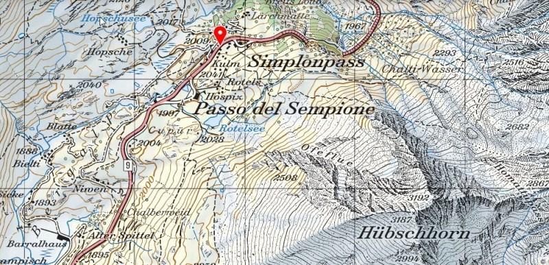 Hubschhorn map