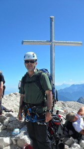 Jof di Montasio - me on the summit.