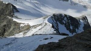 Route to Pigne de la Le