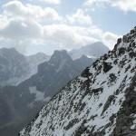 Ridge route on Pigne de la Le.