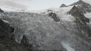 Moiry glacier.
