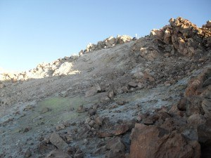 Close to the summit of Teide.