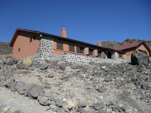Altavista hut on Teide, 3260 m.
