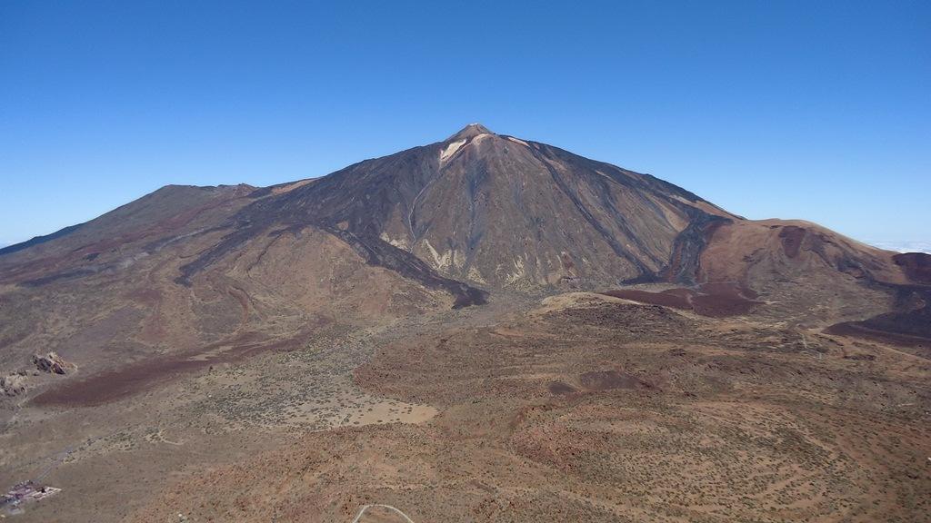 Teide seen from Guajara mountain.