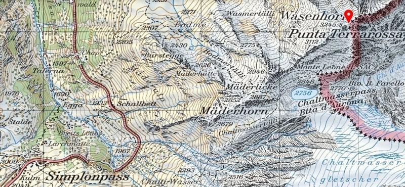 Wasenhorn map