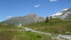 Nidle-sharp Wasenhorn seen from Simplon pass.