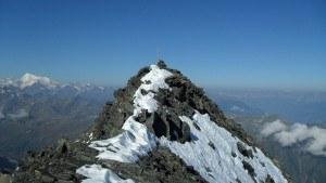 Wasenhorn summit.