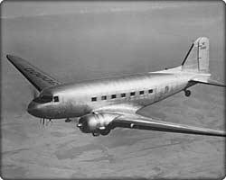 DC-3 plane