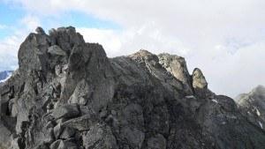 Summit of Fluela Wisshorn.