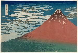 Hokusai: Red Fuji