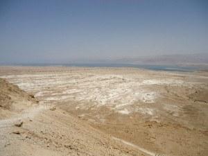 Masada - Dead sea view