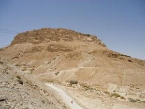 Masada - from below