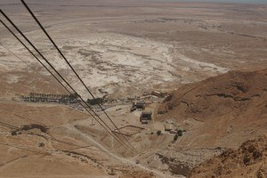 Masada - view from cable car