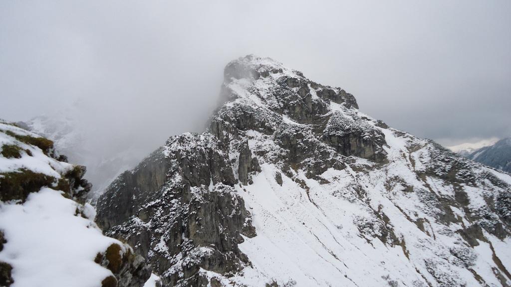 The summit of Kramerspitz.