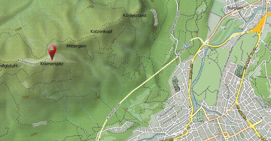 Kramerspitz map