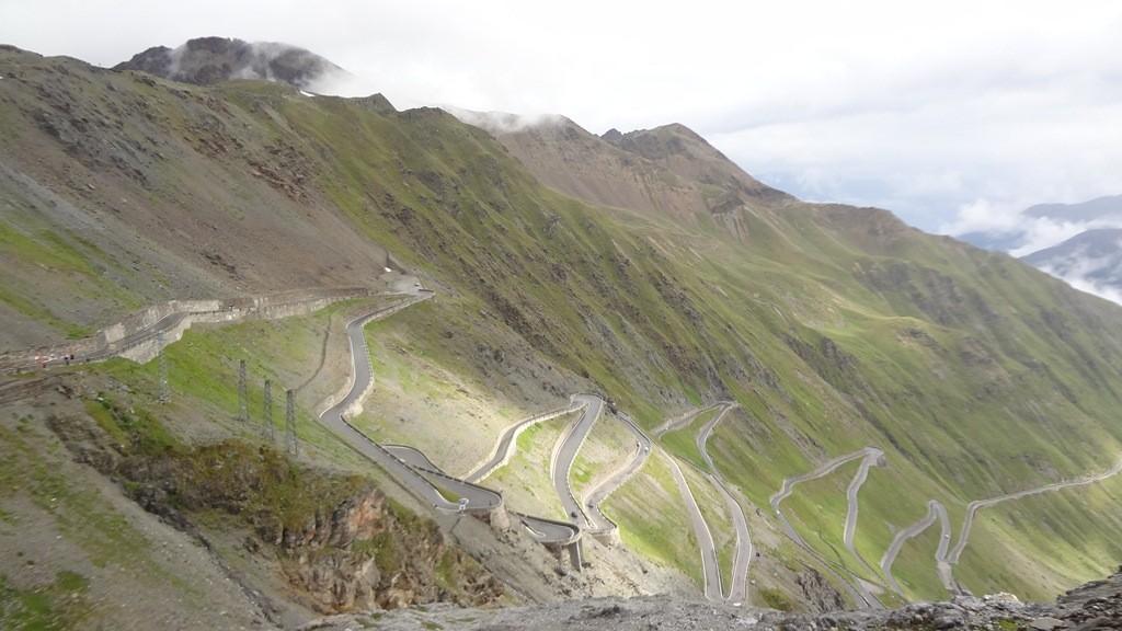 Stelvio road.
