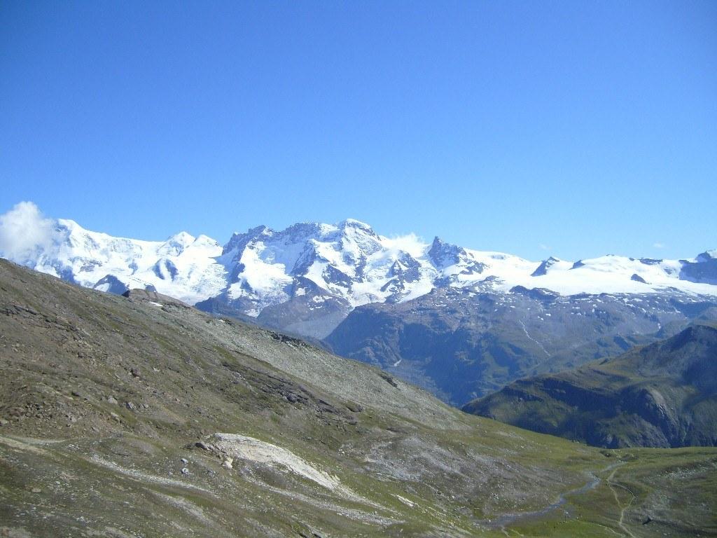Breithorn Zermatt - view from Platthorn