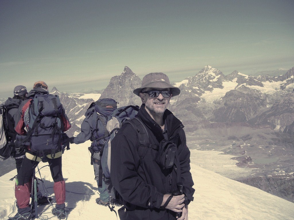 Breithorn-me on the summit.
