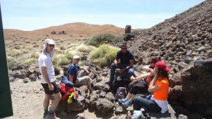 Teide- first stop