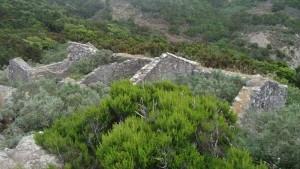chamorga faro de anaga-ruins high above the village