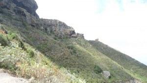 chamorga faro de anaga-the route above the village