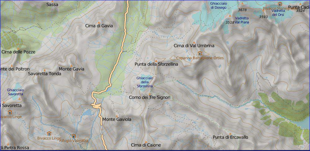 gavia ordinary map