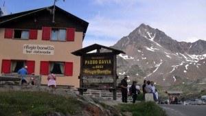 Gavia pass- altitude sign