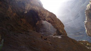 Masca valley Tenerife - stone arc