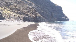 Masca valley Tenerife - the beach at the end of the route