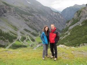 Stelvio pass - jelena and tibor