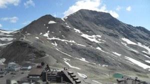 Stelvio pass- scorluzzo above
