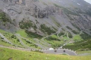 Stelvio pass - south side