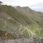 Stelvio pass - the upper part