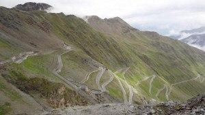 Stelvio pass - the upper part