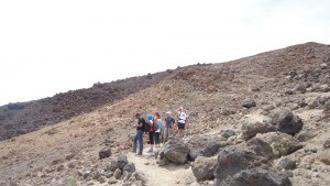 teide - on the way up