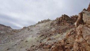 teide - sulphur field