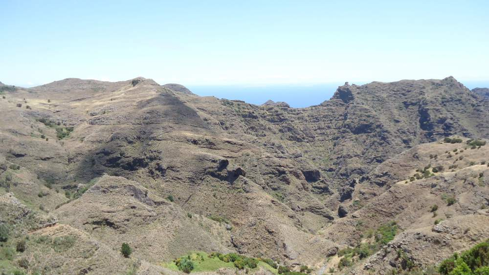 Anaga Mountains Tenerife - Ijuana proteced natural zone
