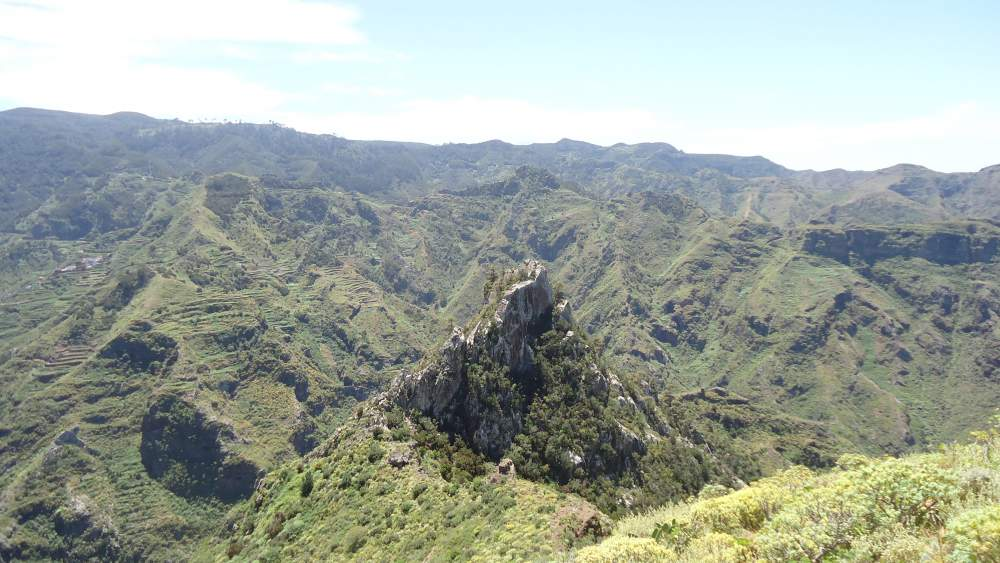 Anaga Mountains Tenerife - north side