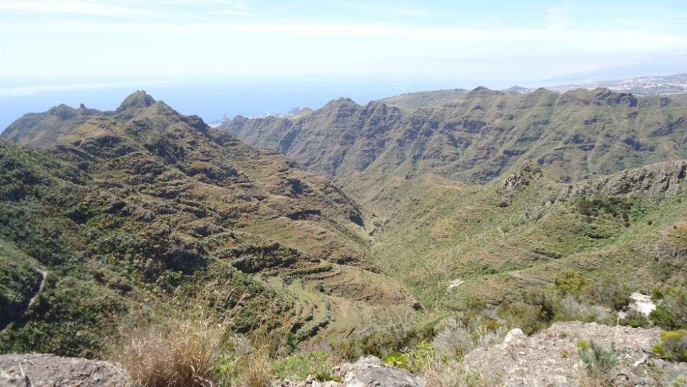 Anaga Mountains Tenerife - valle Luiz