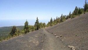 Vilaflor-Lunar Landscape-Guajara- black lava beginning