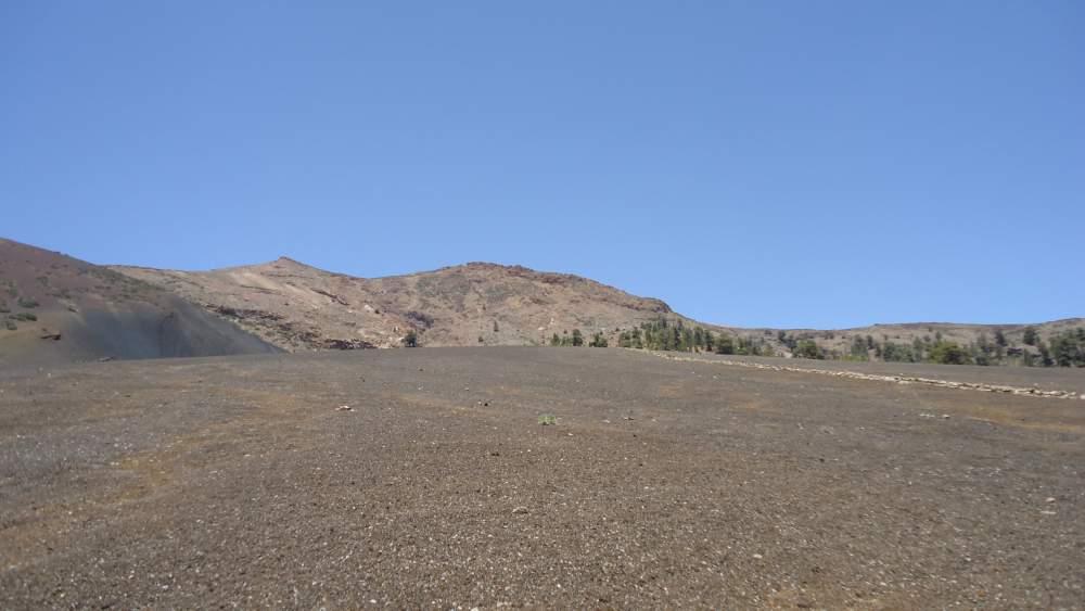 Vilaflor-Lunar Landscape-Guajara- on black sand