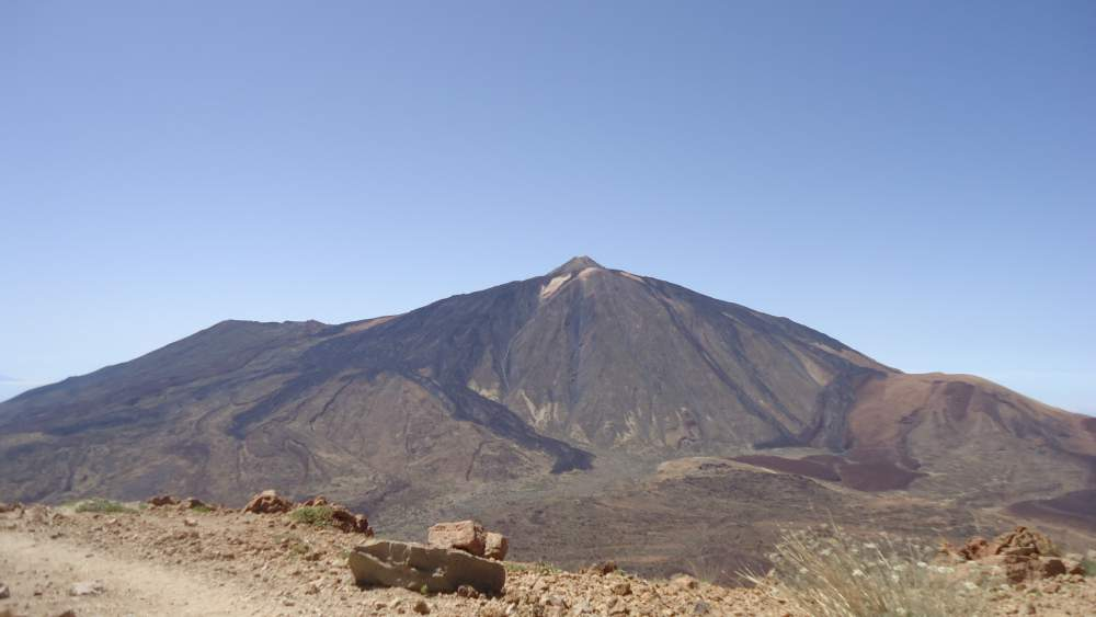Vilaflor-Lunar Landscape-Guajara- teide seen from the summit