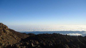Clouds around Teide